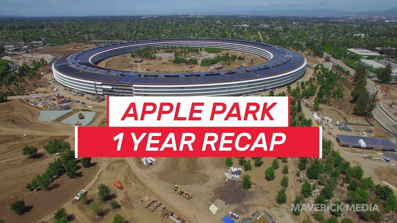 Apple'ın 5 Milyar Dolarlık Kampüsü Dev Bir Laptop'a Benzeyecek