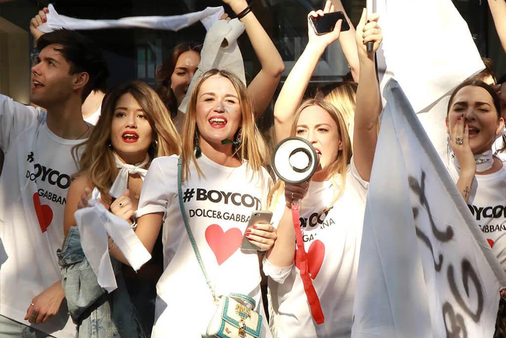 Dolce & Gabbana, Kendisine Yönelik Bir Boykot Kampanyası Başlattı