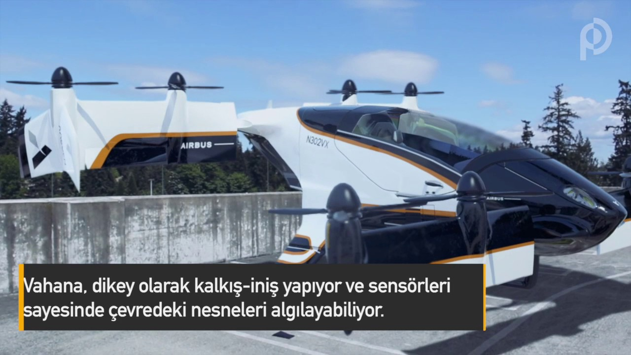 Airbus, Uçan Taksi Hizmeti Vermeye Hazırlanıyor