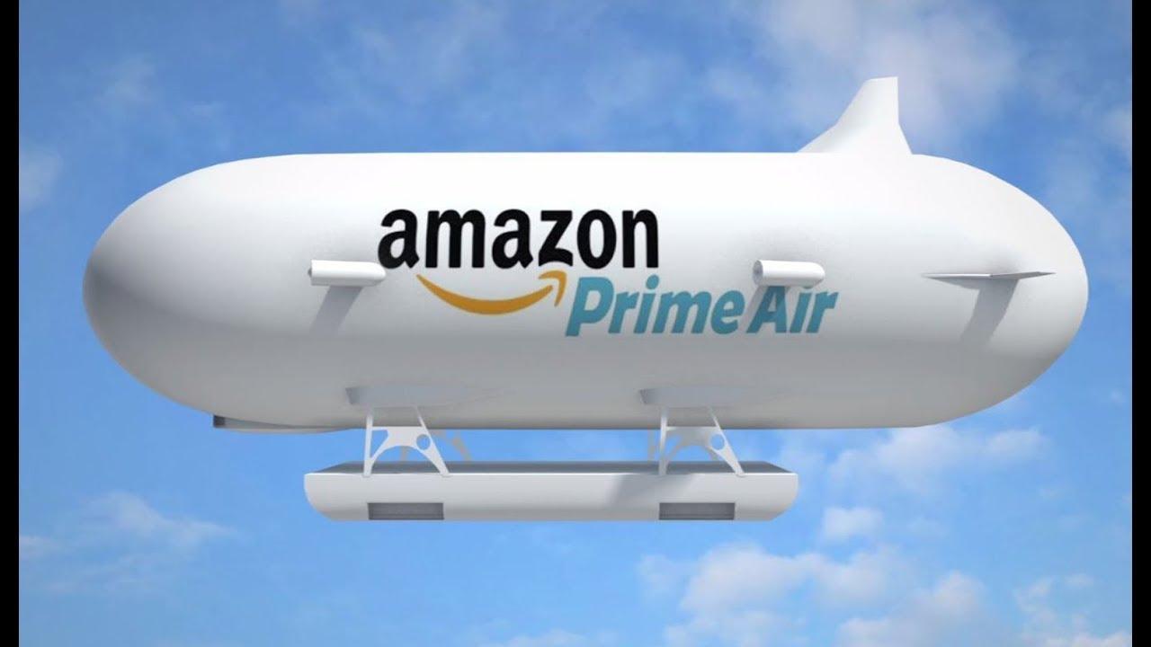 Amazon'un Devrim Niteliğindeki Uçan Deposu