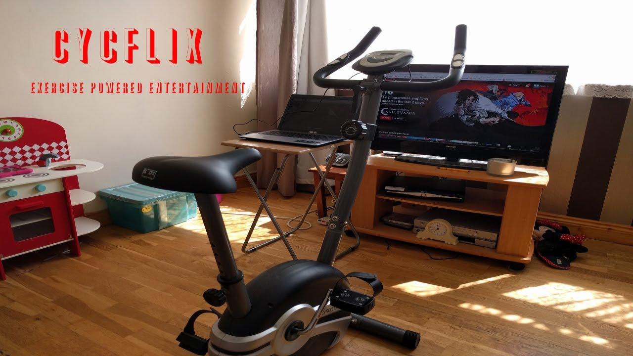 Netflix İzlerken Sporu İhmal Etmek İstemeyenlere Çözüm: Cycflix