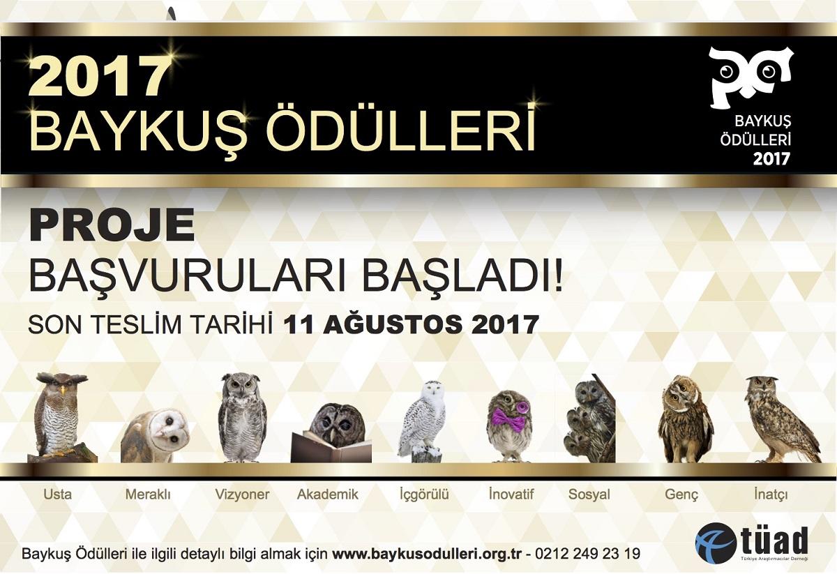 2017 Baykuş Ödülleri Başvuruları Başladı