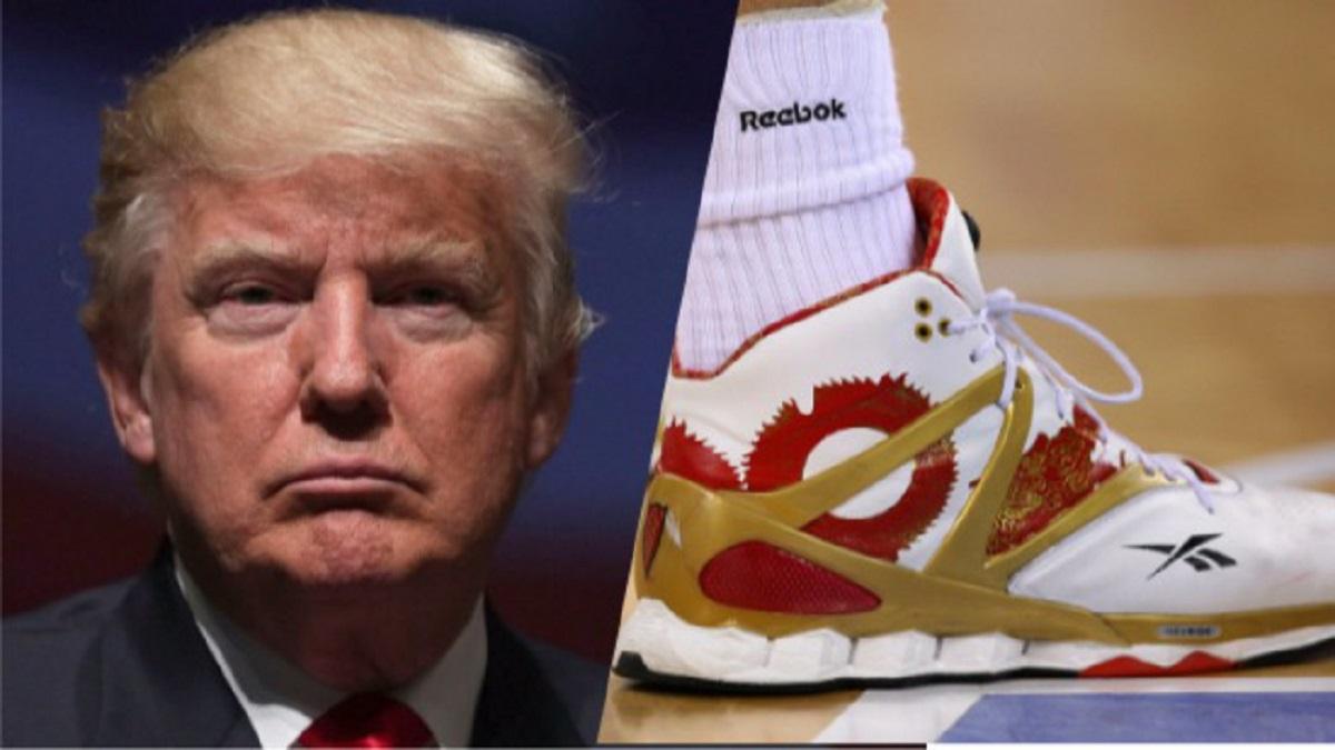Reebok'tan Başkan Trump'a Görgü Kuralları Dersi