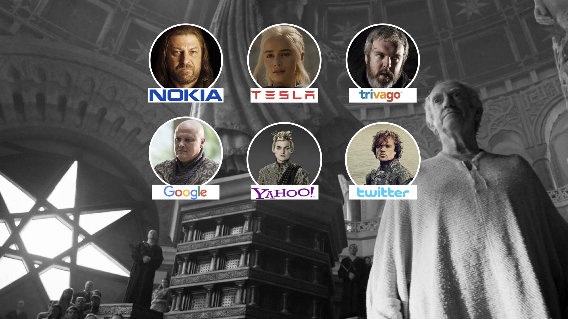 Game of Thrones Karakterleri Günümüzün Markaları Olsaydı?