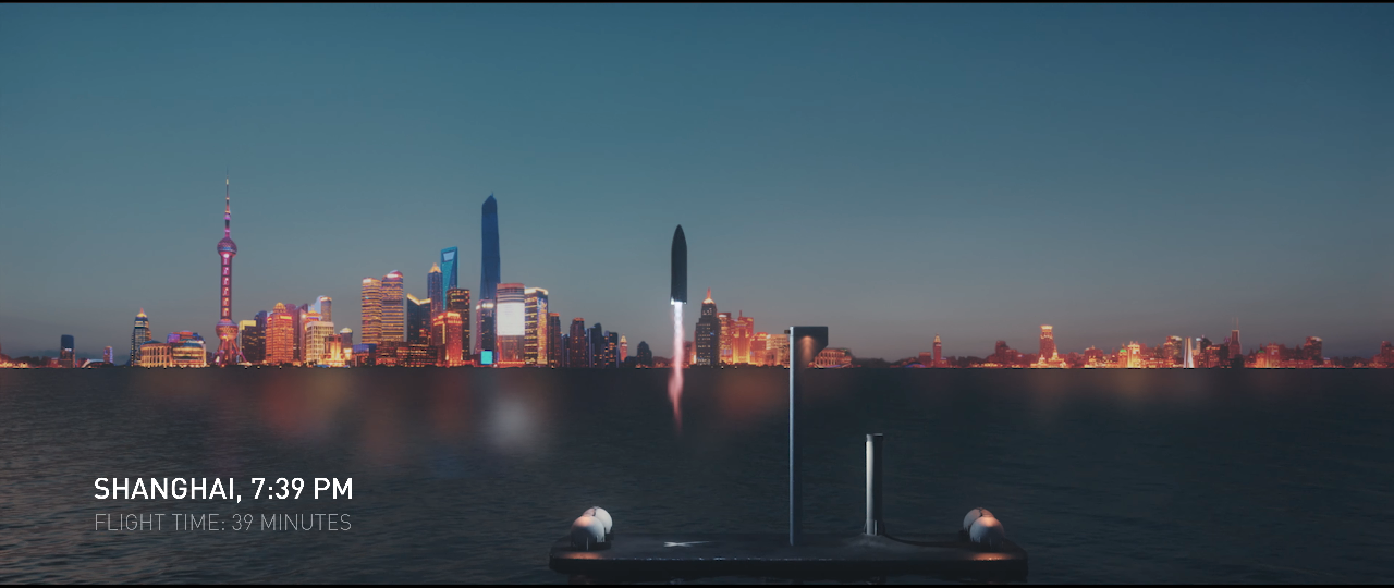 Elon Musk Şehirler Arası Mesafeyi Uzay Kapsülleriyle Kısaltacak