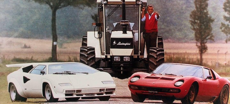 Lamborghini'nin Traktör Üretiminden Spor Araba Üretimine Geçiş Hikayesi