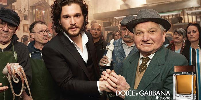 Jon Snow ile Daenerys Targaryen, Dolce&Gabbana'nın Reklam Filminde Bir araya Geldi