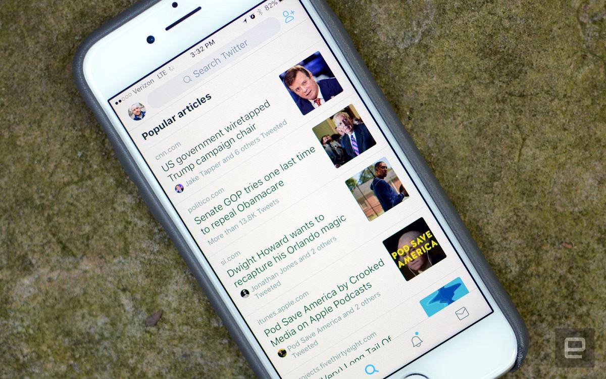 Twitter, Kullanıcılarına Popüler Makaleler Önerecek