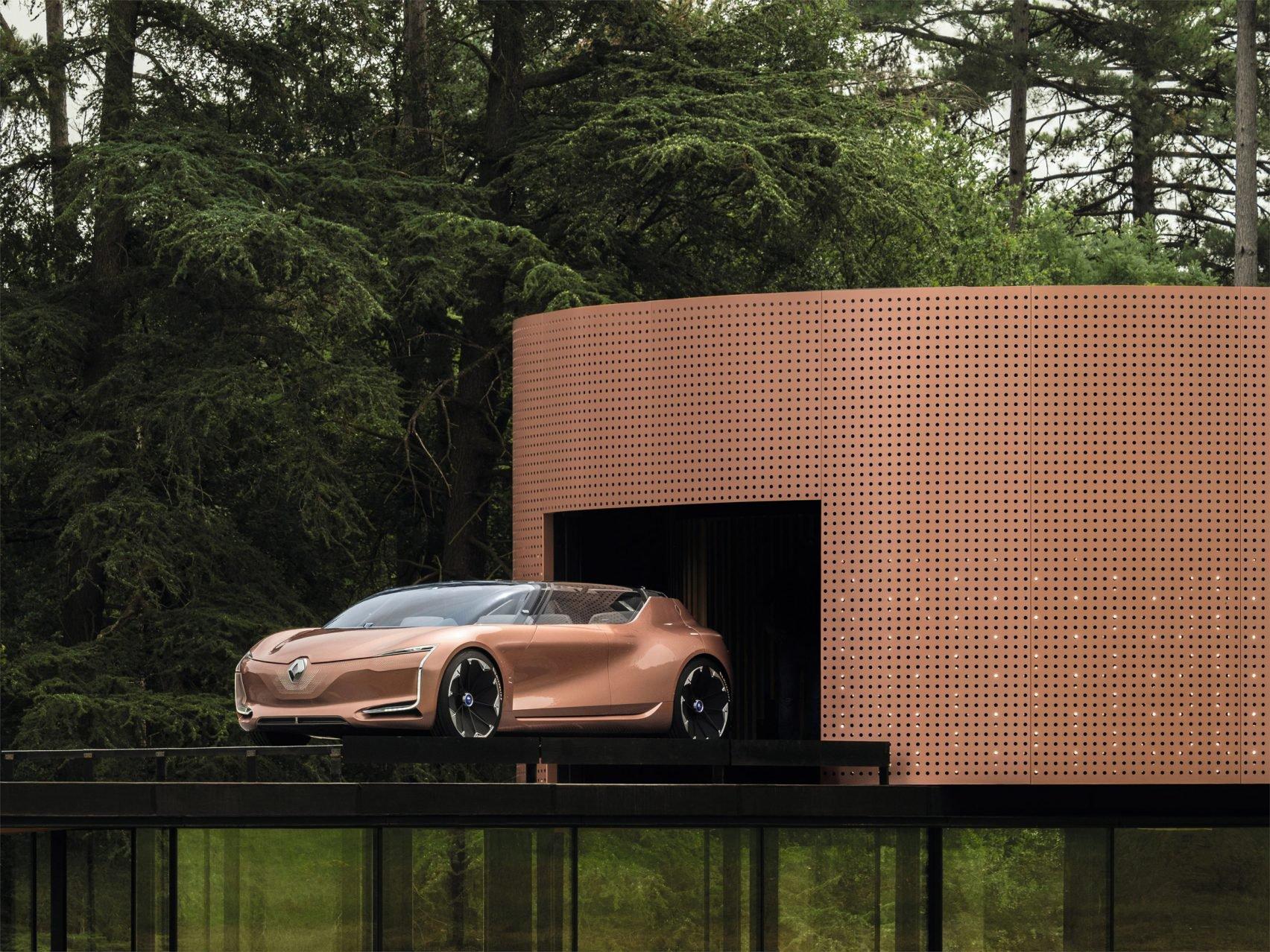 Renault'dan Geleceğin Araç Konsepti: Akıllı Ev ile Bağlantılı Symbioz