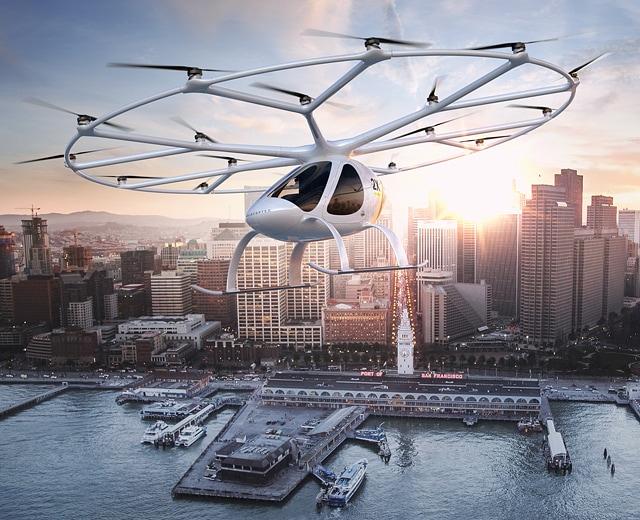 Otonom Uçan Taksi Dubai'de İlk Seferini Başarıyla Tamamladı