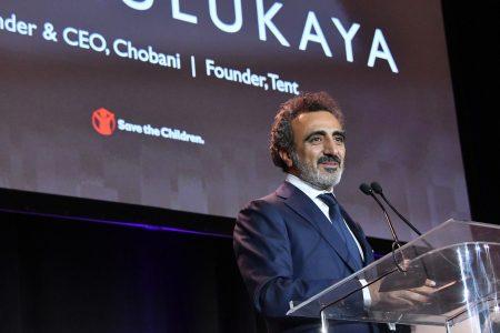 Çocukları Koruyun Vakfından Hamdi Ulukaya'ya Yardımseverlik Ödülü