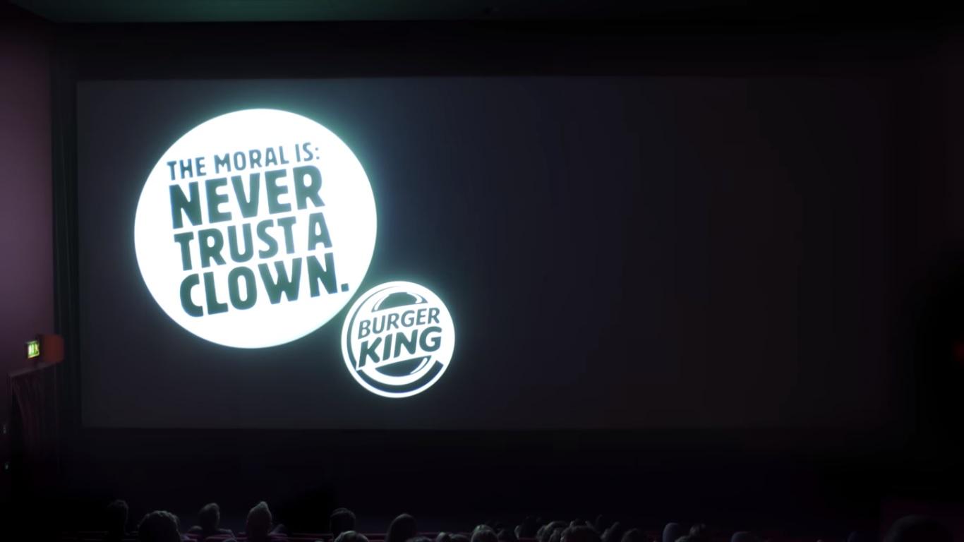 "Burger King'ten Mc Donalds'a: ""Asla Bir Palyaçoya Güvenme"""