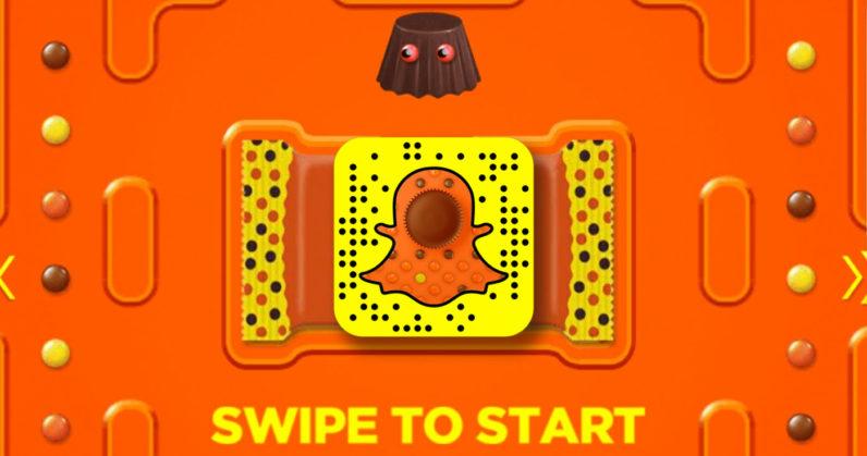 Çikolata Markası, Snapchat'te Pac-Man Benzeri Oyun Yayımladı