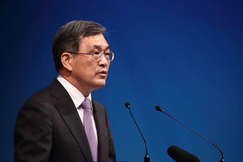 Samsung'un CEO'su İstifa Etti