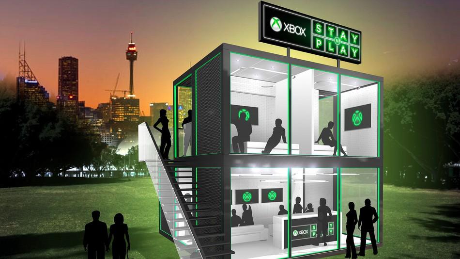 Xbox Oyun Severler İçin Pop-Up Otel Açıyor