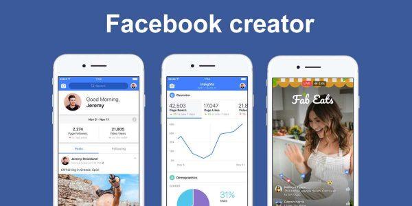 Facebook'tan YouTube'a Hamle: Facebook Creator App