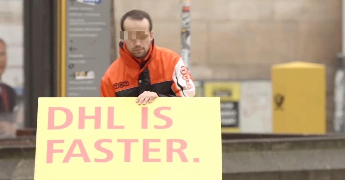 DHL'in Rakiplerine Kendi Reklamını Yaptırttığı Efsane Çalışma