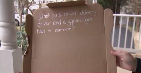 Pizza Hut Çalışanı, Pizza Kutusuna Yazdığı Uygunsuz Şaka Yüzünden Kovuldu