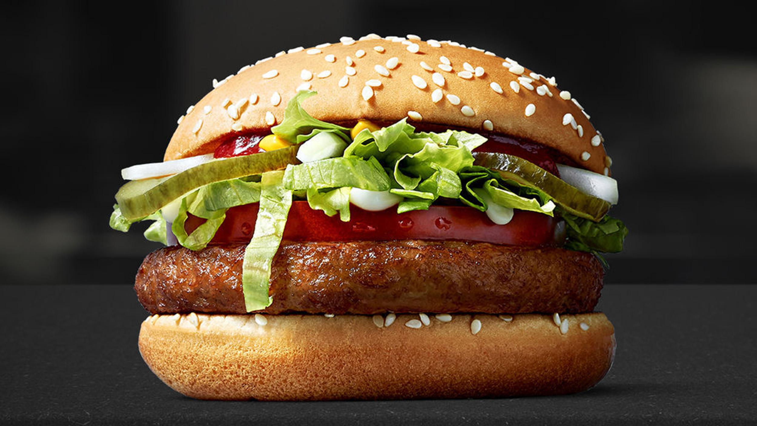 Mc Donald's'ın İlk Vegan Burgeri 'Mc Vegan' Menüde Yerini Aldı