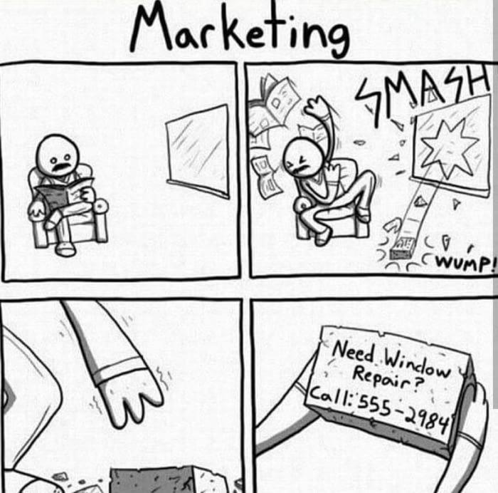 9GAG Kullanıcılarından Eğlenceli ve Sarkastik Marketing Paylaşımları