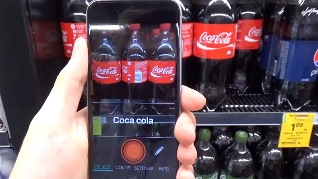 Görme Engelli Kişilerin Bir Nevi Gözleri Olan Mobil Uygulama