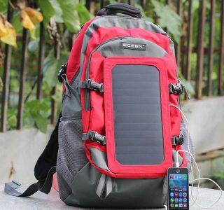 Bu Çanta Sizi Susuz Telefonunuzu Şarjsız Bırakmıyor!