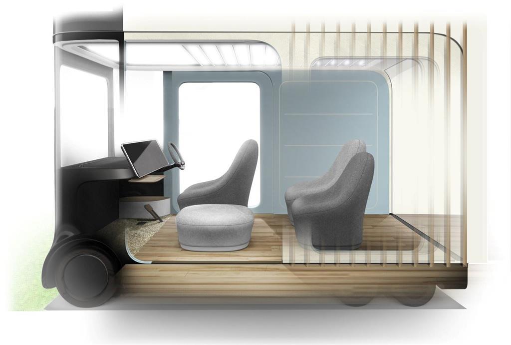 Honda'nın Oturma Odasına Dönüşebilen Konsept Arabası