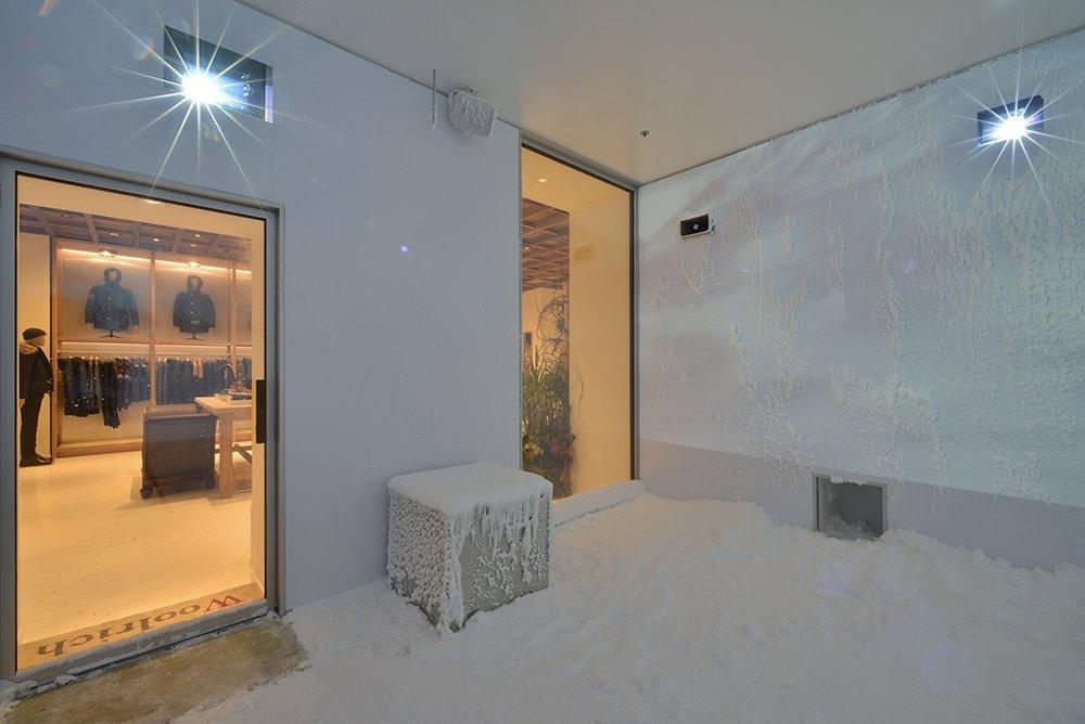 Kışlık Giysilerin Ne Kadar Sıcak Tuttuğunu Test Edebildiğiniz Deneme Odası