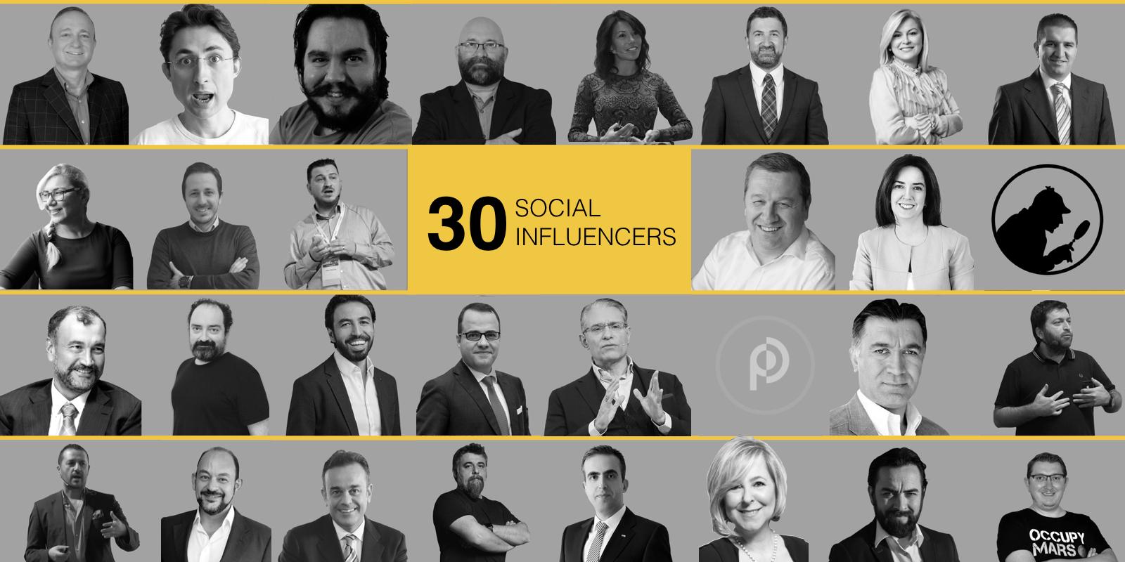 Social Influencers 2018 Listesi Yayında
