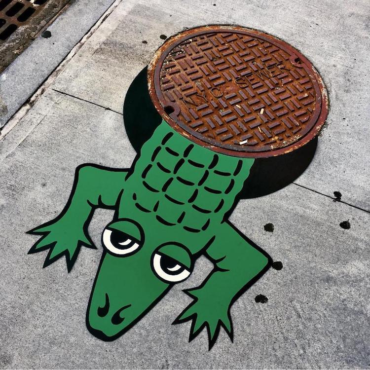 Bu New Yorklu Sokak Sanatçısı Sıradan Nesneleri Muhteşem Sanat Eserlerine Dönüştürüyor