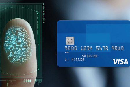Visa Parmak İzi İle Ödeme Doğrulayan Güvenli Bir Kart Üzerinde Çalışıyor