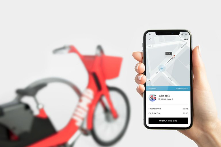 Uber 'Bisiklet Paylaşım Servisi' Olma Yolunda
