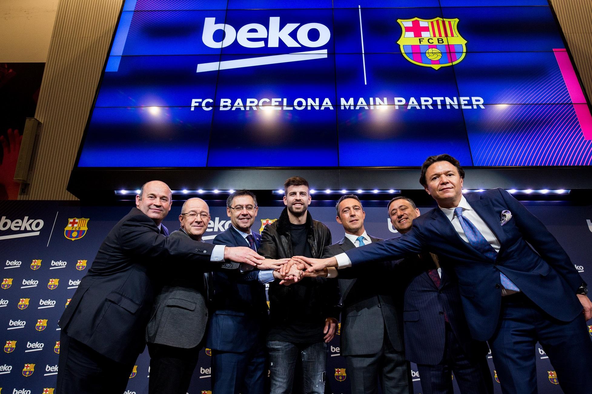 Beko FC Barcelona'nın Global Ana Sponsoru Oldu