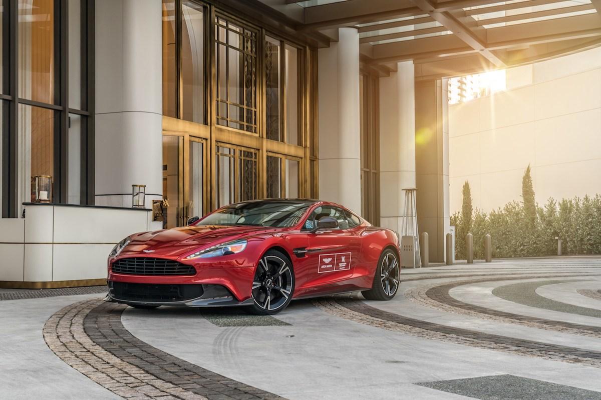 Müşterilerine Aston Martin ile Gezme İmkanı Sunan Hilton Oteli