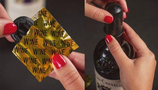 Şarap Kondomu: Tamamen Masum, Basit ve İnovatif Ürün