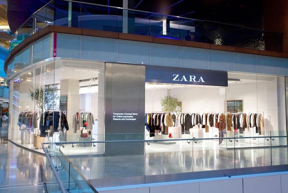 Zara'nın E-Ticaret Özelliklerini Fiziksel Mağazacılığa Taşıyan Konsept Mağazası