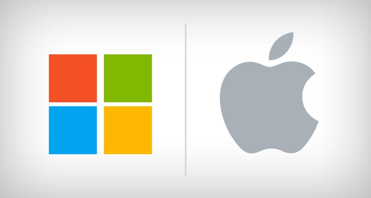 """Bill Gates'in Rakibi Apple'a 20 Yıl Önce Verdiği """"Hayat Öpücüğü"""""""