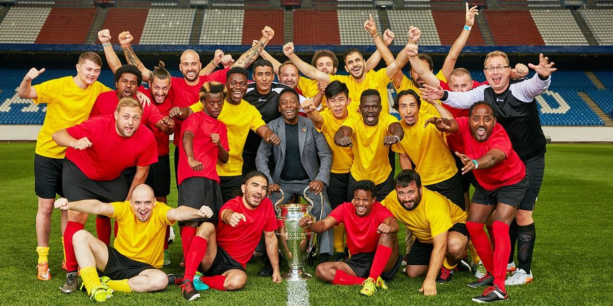 Mastercard ve Pele, 22 Ülkeyi Bir Maçta Buluşturdu