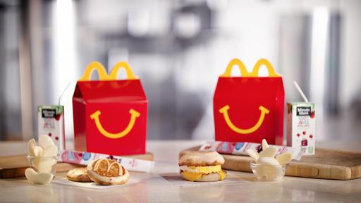 Mc Donald's'ın Happy Meal Menüleri Artık 'Daha Sağlıklı' Olacak!