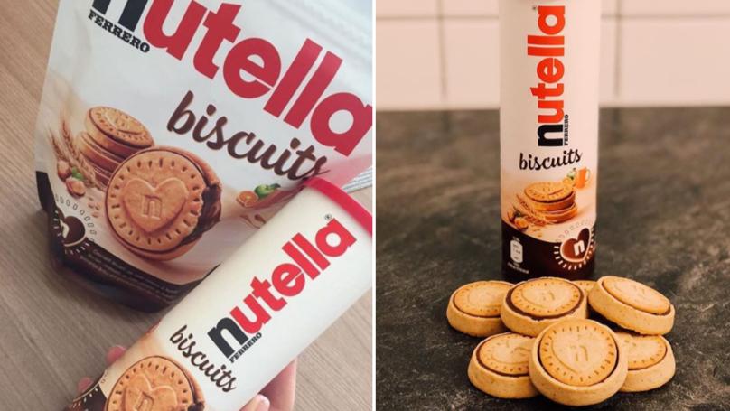 Nutella Krizine Her An Her Yerde Son Verebilmenizi Sağlayan Nutella Bisküvisi