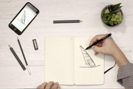 Ajandanıza Aldığınız Notu Anında Telefonunuza Aktaran Akıllı Kalem: Moleksine Pen+ Ellipse