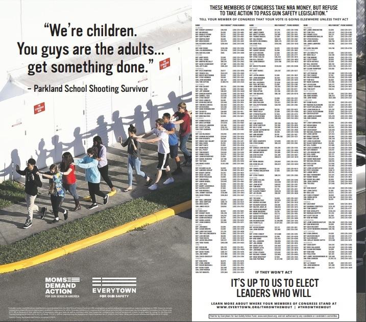 Bireysel Silahlanma Konusunda Adım Atmayan Milletvekillerini İfşa Eden Gazete Reklamı