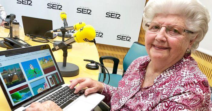 Paint'te Sanat Şaheserleri Yaratan 87 Yaşındaki Concha Garcia Zaera ile Tanışın!