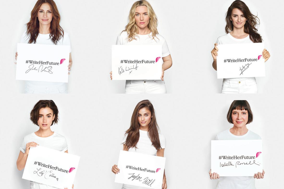 Lancome'dan Genç Kadınlara Anlamlı Destek: Kendi Geleceğini Yazsın!