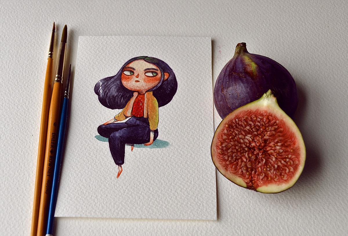 Meyvelerden Gelen İlhamla Marija Tiurina'dan Yaratıcı Tasarımlar