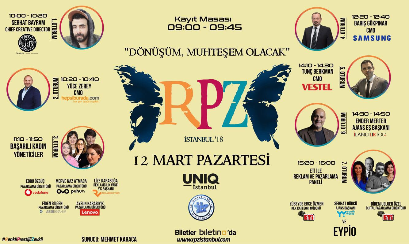 """Bu Yıl İstanbul Üniversitesi Reklam ve Pazarlama Zirvesi'nde """"Dönüşüm, muhteşem olacak!"""""""