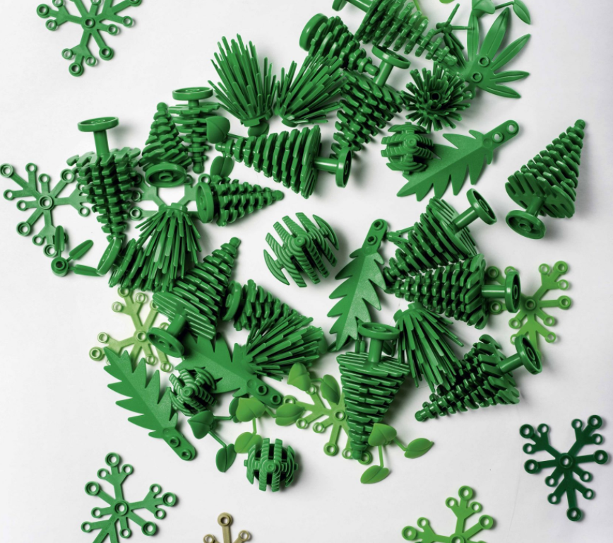 Lego Oyuncakları Artık Şeker Kamışından Üretilecek