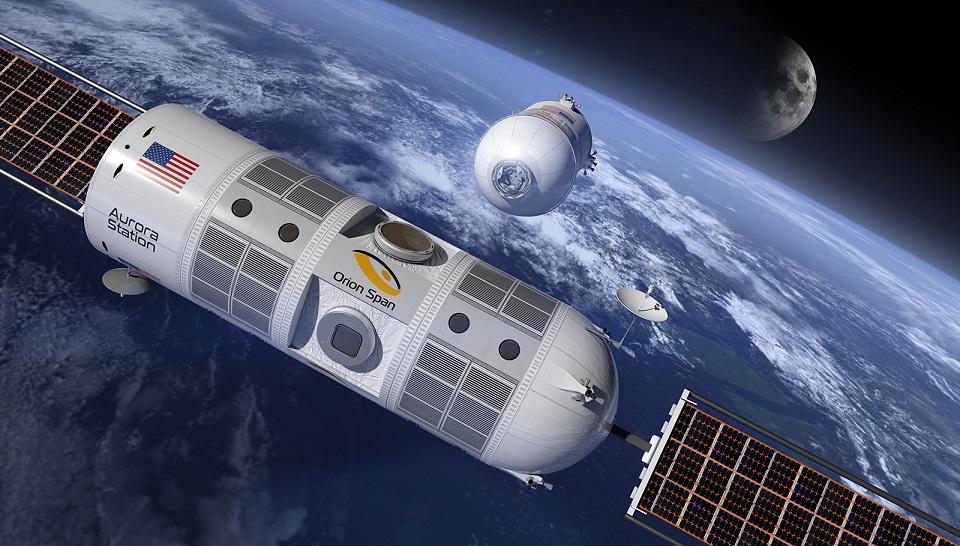 Dünyanın İlk Lüks Uzay Oteli: Aurora Station