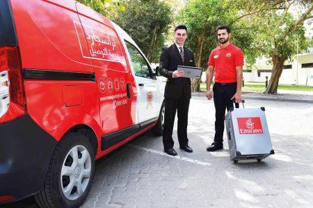Emirates'ten Yolcuların Bagajlarının Kapılarından Alınmasını Sağlayan Hizmet
