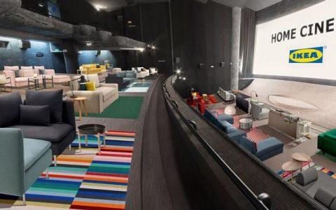 IKEA, Paris'in En Ünlü Sinemalarından Birini Ev Sinemasına Dönüştürüyor